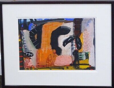 Original Tony Jones (ST IVES SCHOOL)  Painting For A Drawing  GOUACHE Painting  • 175£