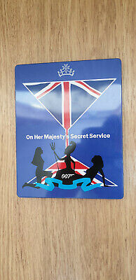 James Bond 007 On Her Majesty's Secret Service Steelbook Bluray • 18.75£