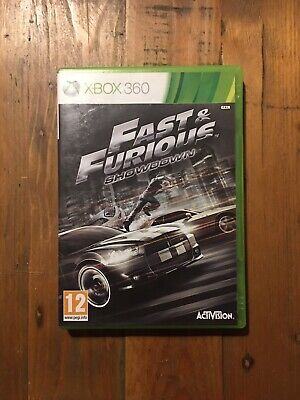 Fast & And Furious Showdown Microsoft Xbox 360 Cars Racing Tested • 4.99£