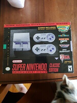 $ CDN83.25 • Buy Super Nintendo Entertainment System SNES Classic With 2 Wireless Controllers