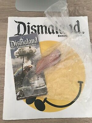 Banksy Dismaland Programme, Hook A Duck Fish In A Bag And Rare Flyer • 50£