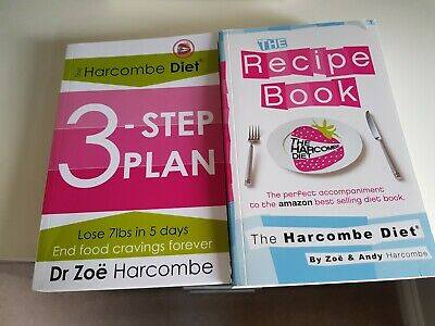 £9.99 • Buy The Harcombe 3 Step Plan Diet Plus  Recipe Book