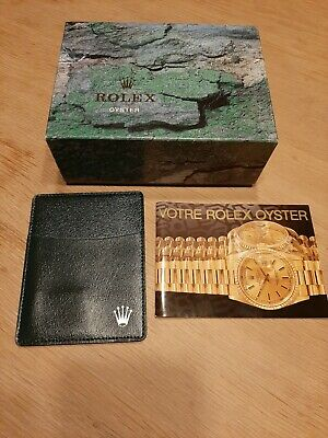 $ CDN81.80 • Buy Rolex Vintage Oyster Outer Box .  Boîte Rolex Oyster