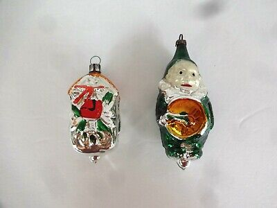$ CDN2.63 • Buy Vintage Glass Christmas Ornaments Poland Cuckoo Clock East Germany Clown