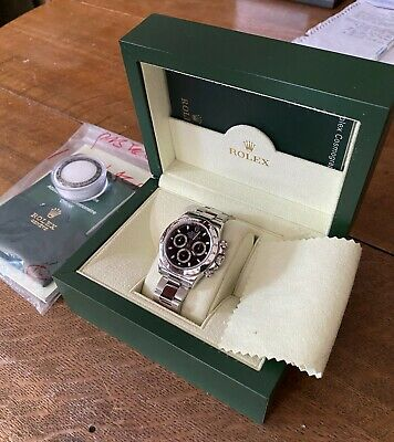 $ CDN38012.90 • Buy ROLEX DAYTONA BLACK DIAL 116520 Box And Matching Papers 2007.  Never Used