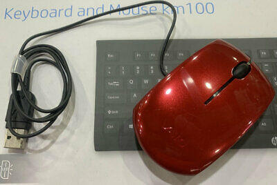 £11.55 • Buy Sony Vaio VGP-UMS20 Mouse Tested And  USB Mouse Red