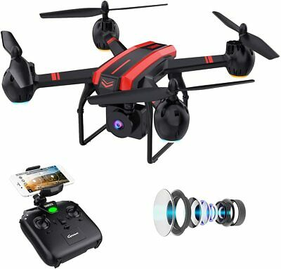 AU106.87 • Buy SANROCK Drones With Camera For Adults And Kids, 1080P Full HD FPV Live Video