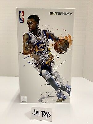 $140 • Buy Enterbay 1/9 Stephen Curry Motion MasterPiece Action Figure NBA Warriors