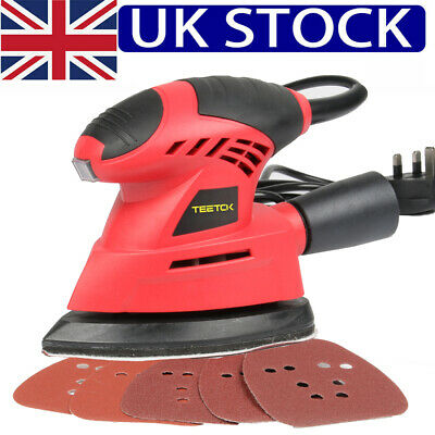 Hand Held Mouse Sanding Machine Small Electric Tight Corners Sander Angle Base • 15.90£