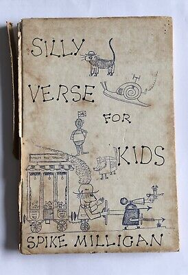 Spike Milligan; Silly Verse For Kids, First Edition 1959. Rare. Vintage • 15£