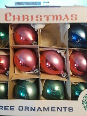 $ CDN19.82 • Buy Vintage Christmas Tree Ornaments Made In Poland (11) I Original Bo