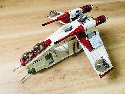 AU325.25 • Buy LEGO Star Wars Republic Attack Gunship 7676 RARE RETIRED, 80% OR BETTER