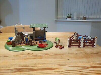 PLAYMOBIL 6929 Country Horse Grooming Station • 2.90£