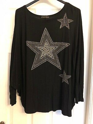 Ladies Studio Star Top One Size • 8.50£