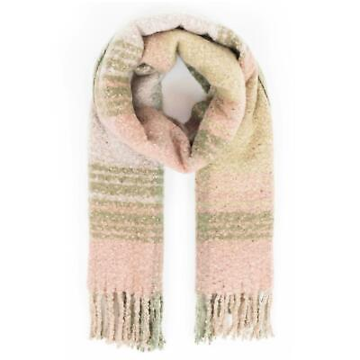 Powder Design Maggie Knitted Scarf | Moss Mix • 24.99£