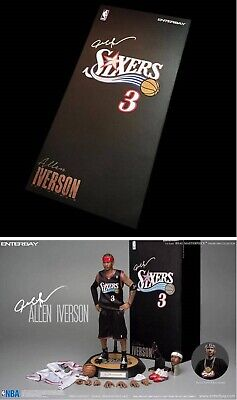 $839 • Buy Enterbay NBA Basketball Allen Iverson RM-1060 1/6 Scale Figure Upgrade Edition