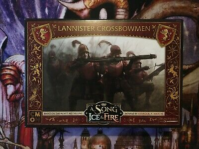 A Song Of Ice And Fire Lannister Crossbowmen Board Game Expansion, New, Unused • 23.99£