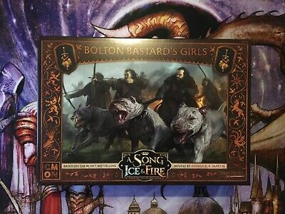A Song Of Ice And Fire Bolton Bastard Girls Board Game Expansion, New, Unused • 22.99£