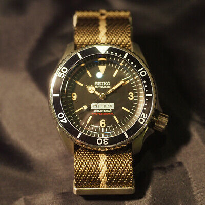 $ CDN1110.71 • Buy Seiko Modified SKX007 Black Boy NH35 Automatic Mens Watch Authentic Working