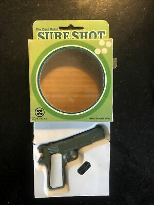 Vintage Toy Cap Gun Army Colt 45 - Sure Shot. In Working Order. Diecast • 29.99£