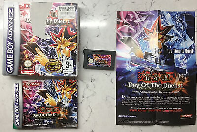 Game Boy Advance Game- YU-GI-OH DAY OF THE DUELIST • 6£