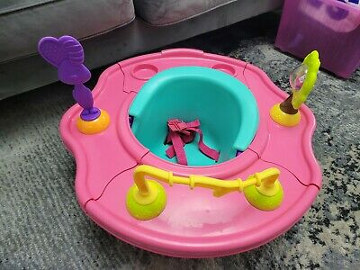 £24.99 • Buy Pink Summer Infant Deluxe 3Stage Super Seat - Bumbo Activity Feeding Chair