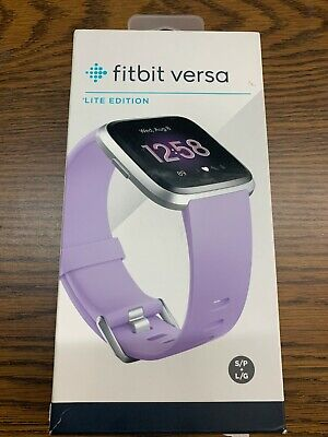 $ CDN117.29 • Buy Fitbit FB415SRLV Versa Lite Edition SmartWatch With Small & Large Band, Lilac