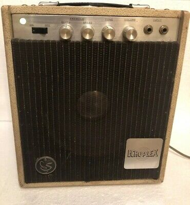 $ CDN325.35 • Buy Vtg Echoplex Guitar Amp Solid State? Powers On & Plays Sold As Is For Parts