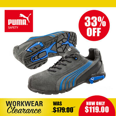 AU119 • Buy Puma Safety Work Boots 642720 Milano NEW With Tags