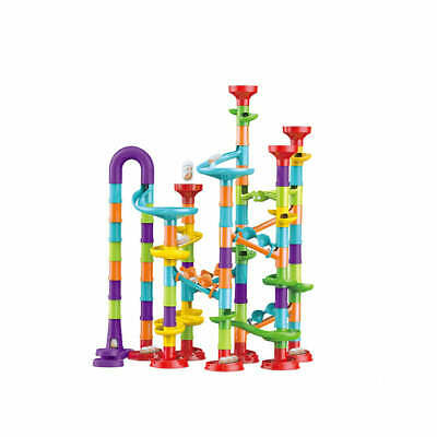 AU29.99 • Buy 113PCS Elevator Marble Run Race Learning Toy Games Block Super Fun Deluxe Set