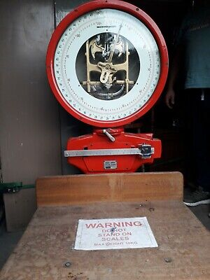 Salvaged Working Large Avery Scales Factory Post Office Workshop Garden Shed • 180£