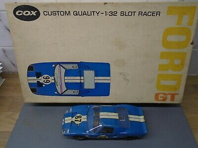 1960's 1/32 Cox Ford GT40 - Excellent - Very Clean Build.  • 90£