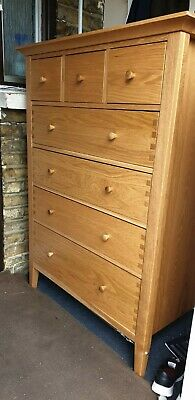 Large Solid Oak Chest Of Drawers • 250£