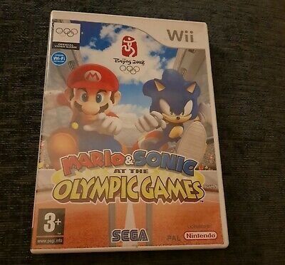 Mario Sonic At The Olympic Games Wii • 1£
