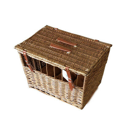 Handmade Wicker Pet Carrier With Windows • 22.99£