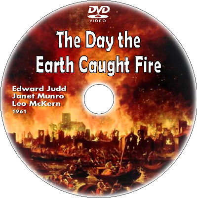 £2.29 • Buy THE DAY THE EARTH CAUGHT FIRE - DVD (1961) Edward Judd, Janet Munro, Leo McKern