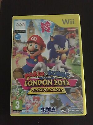 Mario Sonic At The London 2012 Olympic Games Wii • 6£