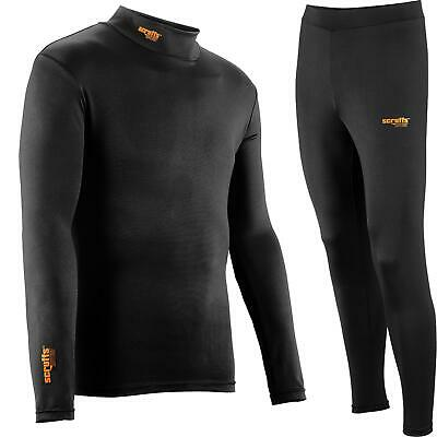 Scruffs Pro Base Layer Thermal Top Or Bottoms Active Baselayer Tights M - XXL • 15.49£