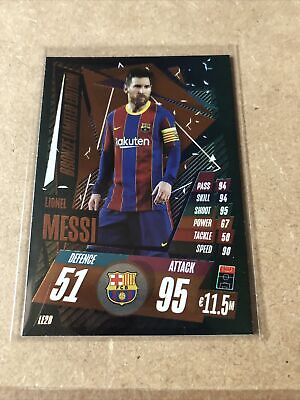 Match Attax 20/21 - Messi BRONZE Limited Edition Card • 1.99£
