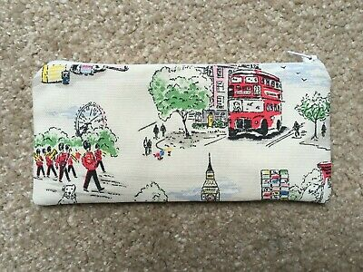 £5.50 • Buy Pencil Case Make Up Case Glasses Case (p) Made Using Cath Kidston Fabric By Dawn