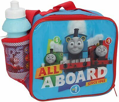 Thomas All Aboard Since 1945 Insulated Lunch Bag With Strap & Sports Bottle • 9.95£