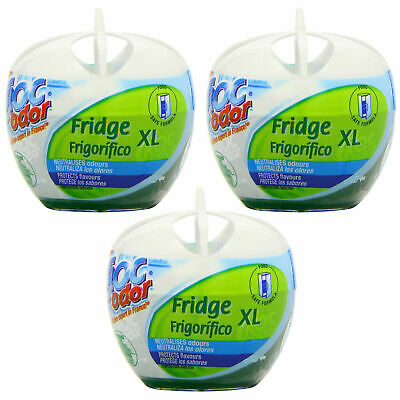 Croc Odor Fridge Deodoriser (140g) - Pack Of 3 • 7.49£