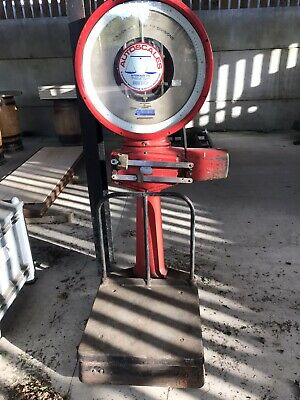 Salvaged Working Large Avery Scales Factory Post Office Workshop Garden Shed • 275£