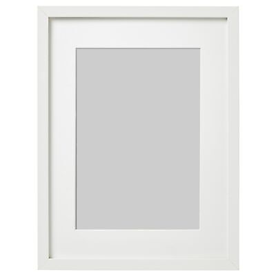 IKEA Ribba Picture Frame Square Photo Display White Different Sizes • 8.99£