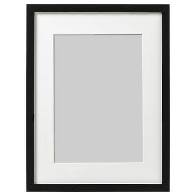 IKEA Ribba Picture Frame Square Photo Display Black Different Sizes • 9.99£