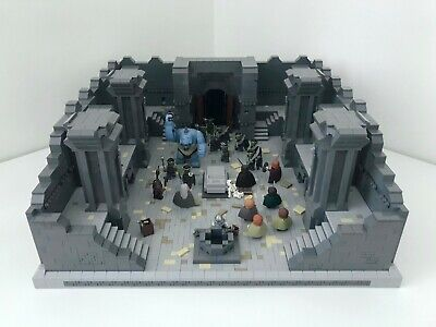 £990 • Buy LEGO Lord Of The Rings - Mines Of Moria - Ultimate Model MOC (9473)