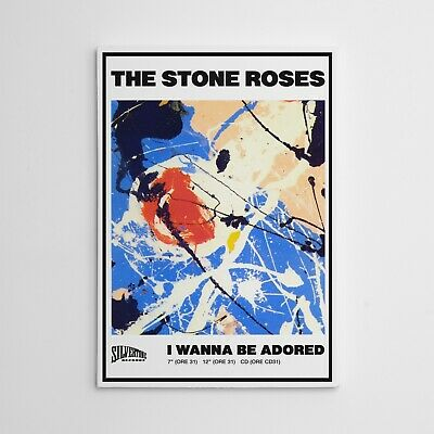 The Stone Roses I Wanna Be Adored Framed Canvas Print  • 24.97£