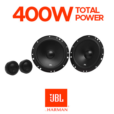 £59.99 • Buy JBL 2-Way Car Component Speakers 6  400W Total Power - STAGE1601C