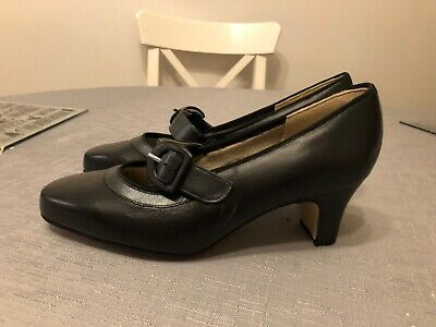 Equity, New, Black, Low Heel, Size 4 Shoes • 4.43£