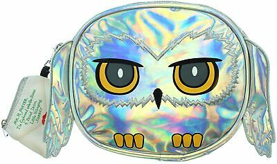 Harry Potter Purse Hedwig Owl Holographic Crossbody Bag With Coin Pouch • 11.59£